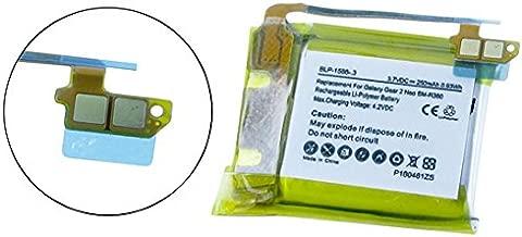 Synergy Digital Battery Compatible for Samsung Galaxy Gear 2 Smartwatch Battery (Li-Pol, 3.7V, 250mAh) Replacement for Samsung SM-R380 Smartwatch Battery