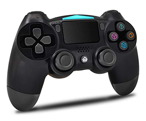 Maegoo Wireless PS4 Controller, Bluetooth Controller PS4 Gamepad Joystick für PS4/Slim/Pro, PS4 Game Controller mit Dual Vibration, 6-Achsen-Somatosensorik, Touch Panel, Audio