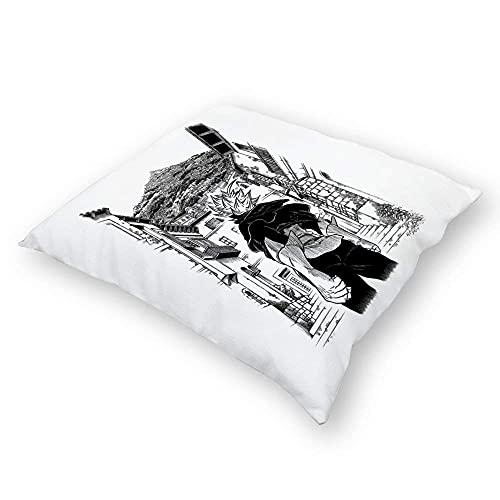 ChenZhuang Bla Clover – 5 Pilloases suelo Pilloases Pilloases Sofakissen fundas de almohada respaldo Auto Interior