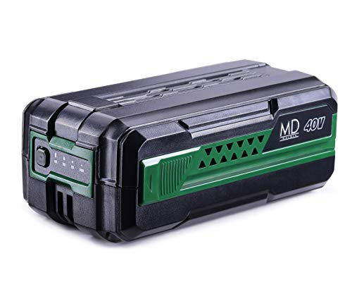 MD Akku, Li-ion 40V Akku 2,5Ah Batterie Lithium-Ionen Ersatzakkus Werkzeugbatterien kurze Ladezeiten