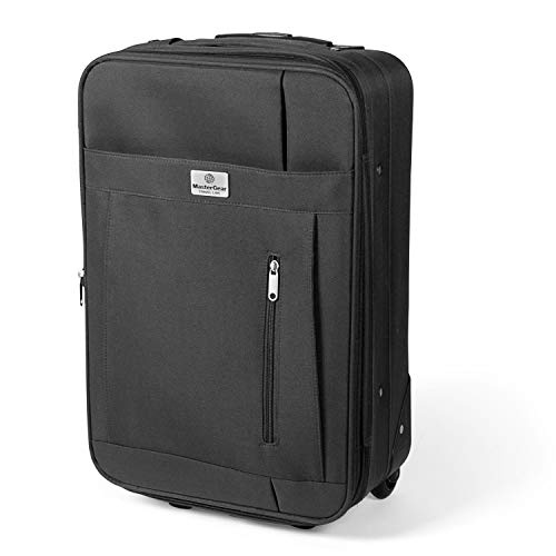 MasterGear Cabin Luggage 55 x 35 x 20 cm – Hand Luggage Suitable for All Airlines
