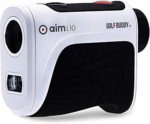 GolfBuddy L10 Télémètre de Golf Unisexe Blanc Taille Unique