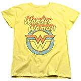 Popfunk Wonder Woman Officially Licensed T-Shirt & Stickers (Large)