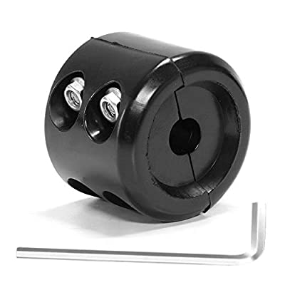 Winch Cable Hook Stopper Rubber Shock Absorbent Winch Line Saver Accessories with Allen Wrench for ATV UTV Winch Cable Protects Towing Hook, Synthetic Rope, Cable Line