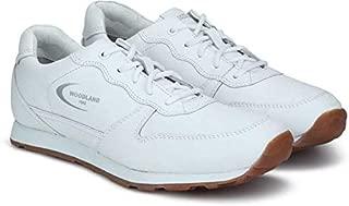 Woodland Men's Gj 2813118_White Leather Sneakers-8 UK (42 EU) (9 US) 2813118WHITE