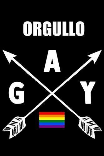 Orgullo Gay: Cuaderno lineado Orgullo Gay y la bandera LGBTQ para apuntes: Buen regalo para Gays y Lesbianas, como también para todos del movimento ... como regalo para tu amigo o amiga gay