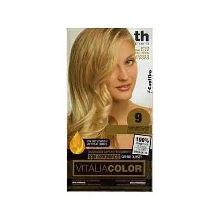 Th Pharma Th Vitalia Color Tinte Nº 9 Rubio Muy Claro Sin Amoniaco 100 g