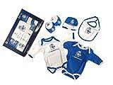 RC Deportivo Baby Set Deportivo,Conjunto de Ropa Unisex Beb,Multicolor (Azul Oscuro/Blanco 000),0/3 Meses