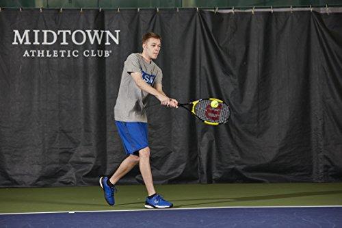 Product Image 7: Wilson Sporting Goods Energy XL Tennis Racquet (EA) , Yellow/Black, 4 3/8″