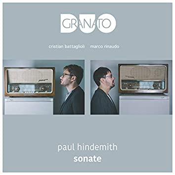 Paul Hindemith Sonata for Alto Saxophone and Piano