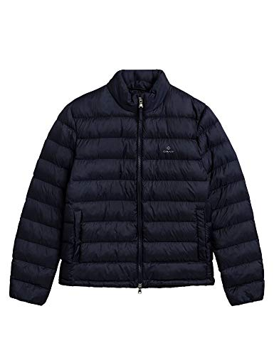 GANT Herren D1. Light Padded Jacket, Evening Blue, XXL
