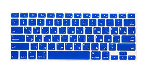 US Enter Russia Keyboard Sticker Silikon Skin für MacBook Air 13 Pro 13 15 for iMac Keyboard A1314