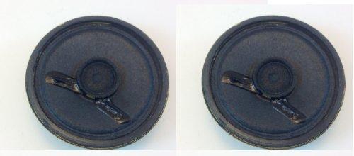 CES 2' Replacement Speaker 1 OZ Magnet .25 WATTS @ 8 OHMS (Pair)