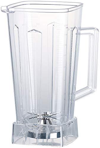 Rosenstein & Söhne Zubehör zu Hochleistungs-Mixer: Ersatz-Mixbecher für Profi-Standmixer BR-1500, 2 Liter, BPA-frei (Smoothie-Mixer Gastronomie)
