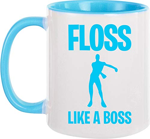 Ezyshirt® Floss like a Boss Kaffeetasse Kaffeebecher