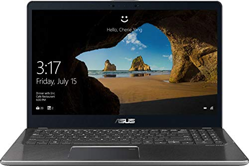 ASUS - 2-in-1 15.6' Touch-Screen Laptop - Intel Core i7 - 16GB Memory - 2TB Hard Drive - Gun...