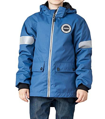 Reima Seiland 3-in-1 Winter-Jacke wasserdichte Kinder Übergangs-Jacke Freizeit-Jacke Outdoor-Jacke Blau, Größe:80