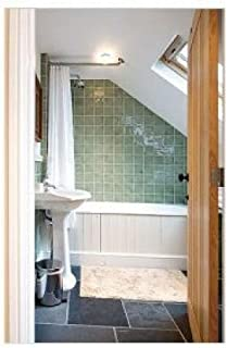 Shower Rods Partial Sloped Ceiling