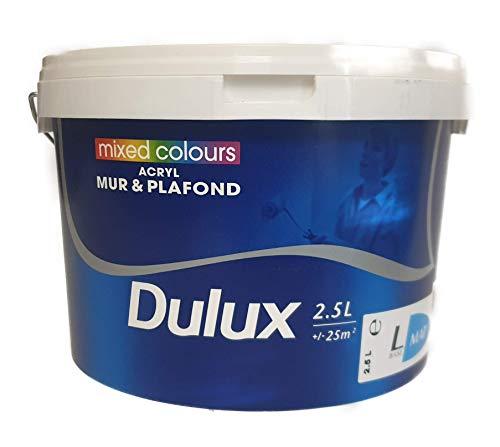 Dulux Wandfarbe 2,5 Liter Matt Hellgrau 11,20€/L