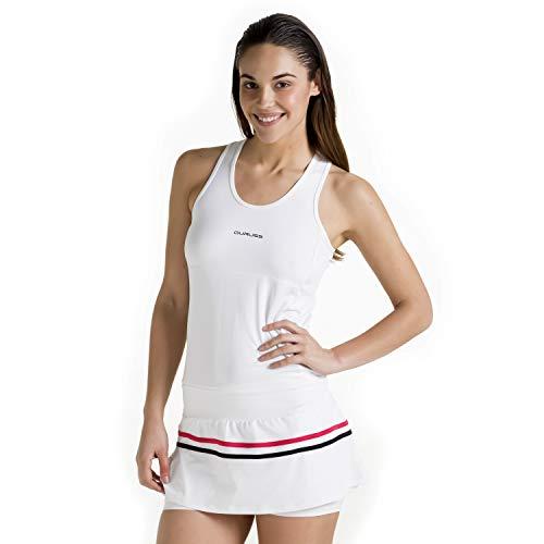 Duruss Vestido de Deporte Técnico con Short Interior. Vestido Elástico Ideal Fitness Pádel Tenis Entrenamiento Bádminton