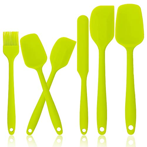 Silicone Spatulas Set of 6 for Baking and Mixing