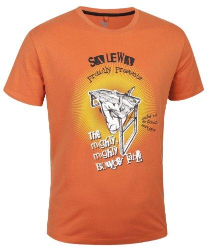 Salewa Might co t-Shirt à Manches Courtes pour Homme Small Orange - aragon/0900