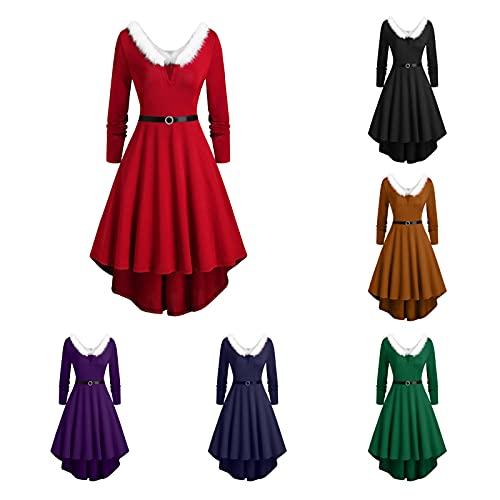 Vestido de Navidad para mujer, elegante, para boda, vestido de noche, largo,...