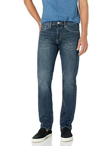 A X Armani Exchange Men's Straight Fit Jean, Medium Wash, 31Regular
