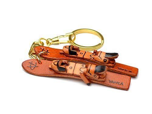 Ski Leder Sport KH Schlüsselanhänger Vanca Windhund Schlüsselanhänger Made in Japan
