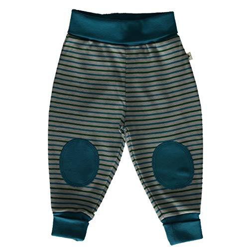 Leela Cotton Pantalon pour bébé et Enfant avec Rayures en Coton Bio - Multicolore - 3/4 Ans