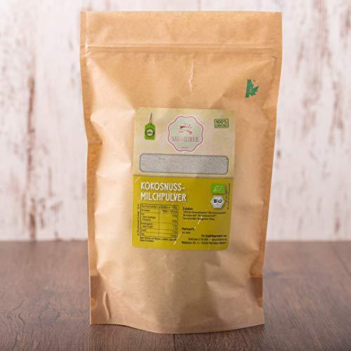 süssundclever.de® Bio Kokosmilchpulver | 500 g | Premium Qualität | ungezuckert | plastikfrei und ökologisch-nachhaltig abgepackt