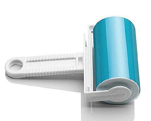 CIPOPO Zufällige Farbe Waschbar verwendbar für Teppiche Travel Pet Haarentferner Schticky Roller Cleaner Hair Fluff Entferner Bürste