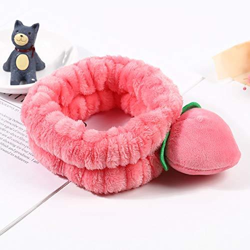 WOTEMAILE Mooie Roze Haarband Roze Elastische Haarband