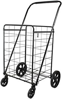 broken shopping cart