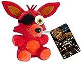 7'' FNAF Phantom Foxy Plush Toys | Five Nights Freddy's Plush: Springtrap, Foxy, Bonnie, RABIT, Marionette | Kids Doll, Gifts for FNAF Fan (Rockstar Foxy)