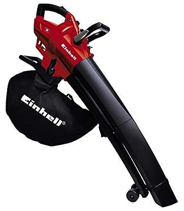 Foto di Einhell 3433290 GC-El 2600 E Soffiatore/Aspiratore Elettrico per Foglie, 2.600 W, Rosso/Nero