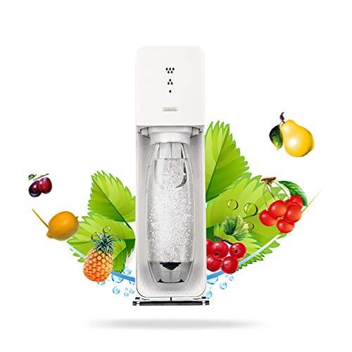 SJB Coctelera, Cocktail Kit Carbonatador carbonatador Hecha de Servidor Agua carbonatada/máquina de refrescos (no Incluyendo el depósito de Gas dióxido de Carbono) (Color : White)