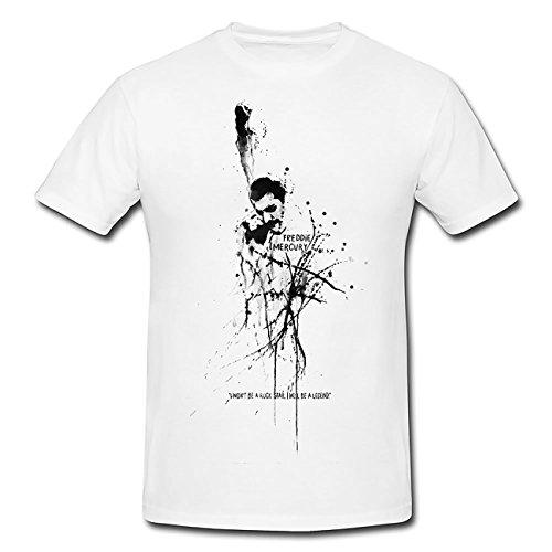 Freddie-Mercury T-Shirt Herren, Men mit stylischen Motiv von Paul Sinus
