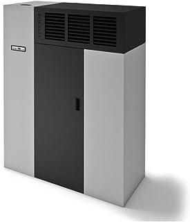 Eva Calor - Caldera de aire Duna 18 kW, aluminio gofrado/negro