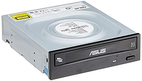 ASUS DRW-24D5MT - Grabadora de DVD 24X, compatibilidad con M-Disc, encriptación de Disco, Almacenamiento Web Ilimitado (12 Meses), Nero Backitup, E-Green, E-Media