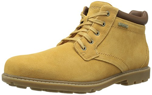 Hot Sale Rockport Men's Rugged Bucks Waterproof Boot,Tan,10 M US