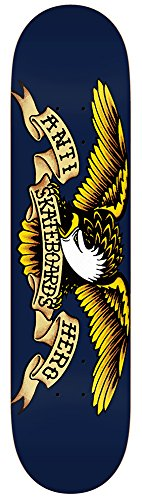 Anti Hero Skateboard Decks - Anti Hero Classic Eagle Skateboard Deck - 8.5 Inch