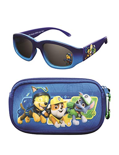 Nickelodeon Paw Patrol Kids Sunglasses with Glasses Case and UV Protection