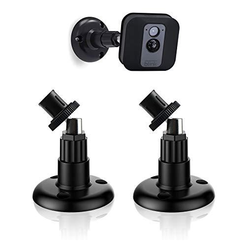 2 stuks Blink XT Mount, ABS Wandsteun voor Blink XT/XT2 Home Security System, Instelbaar Binnen/Buiten Beveiliging Metalen Wandsteun