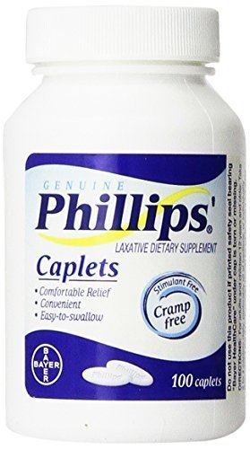Phillips' Laxative Caplets 100-Count by Phillips'