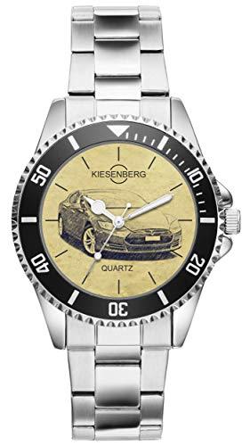 KIESENBERG Uhr - Geschenke für Tesla Model S Fan 4747