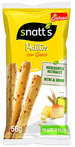 Snatt's Grefusa Palitos de Cereales con Queso, 56g