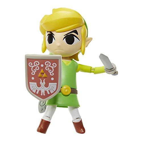 mächtig Die Legende von Zelda 4 Actionfigur Wave 6 Link Window Waker HD