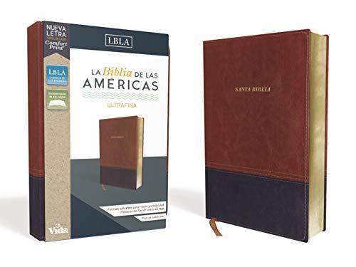 Compare Textbook Prices for LBLA Santa Biblia Ultrafina, Leathersoft, Café Spanish Edition  ISBN 9780829769784 by La Biblia de las Américas  LBLA