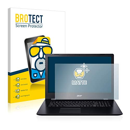 BROTECT Entspiegelungs-Schutzfolie kompatibel mit Acer Aspire 3 A317-51 Bildschirmschutz-Folie Matt, Anti-Reflex, Anti-Fingerprint